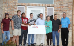 Students design local home and receive a sizable donation [slideshow]