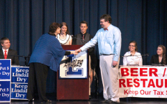 Students host a great debate
