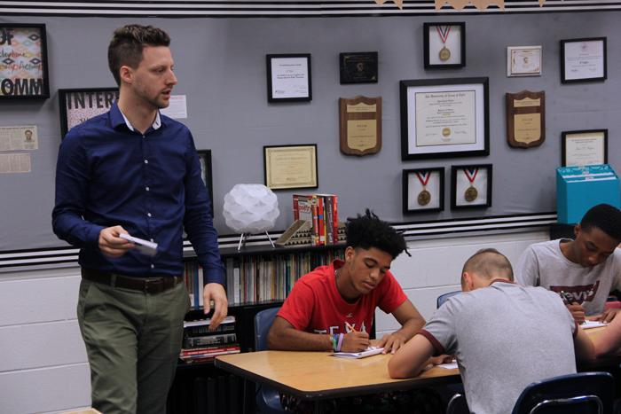 New teachers welcomed to the high school