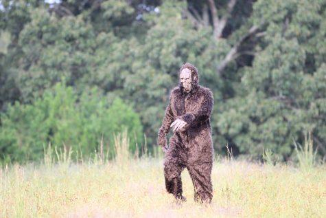 Run like Bigfoot is behind you