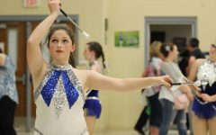 LHS twirlers win 21 medals and advance to state