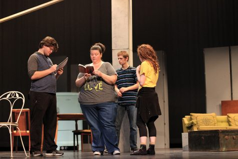 One-act play cast prepares for upcoming contest