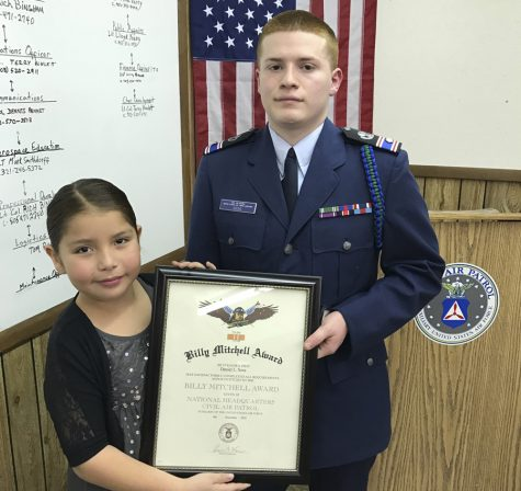 Junior receives Billy Mitchell award