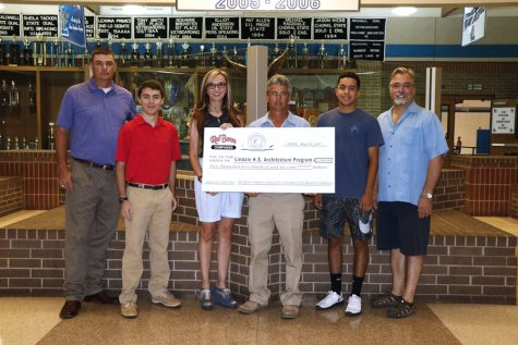 Red Baron Gives Scholarships to CTE Students