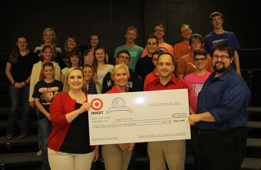 Target+Grant+Supports+Revitalized+Lindale+High+School+Choir+Program