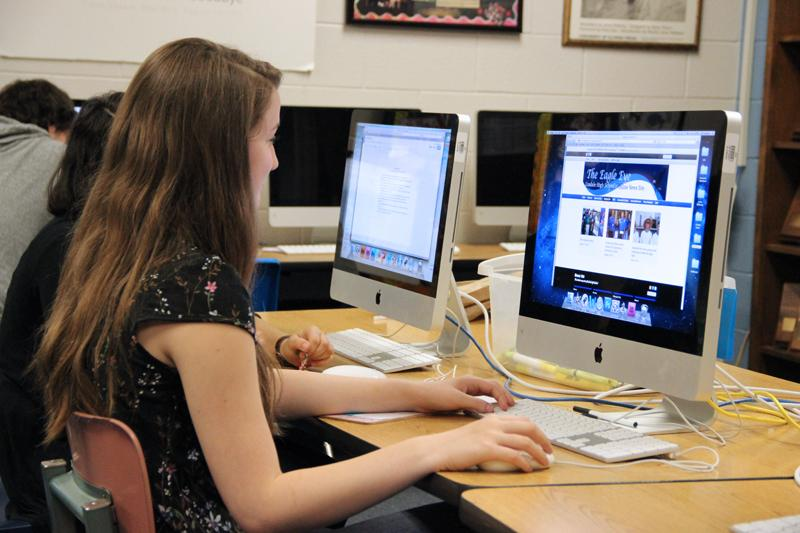 School newspaper moves online