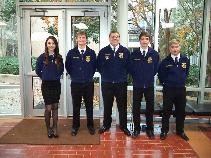 Lindale FFA brings home the gold at state