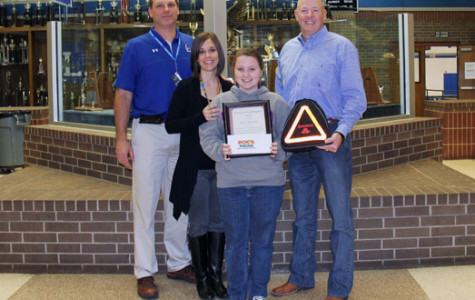 State Farm honors LHS student with January award