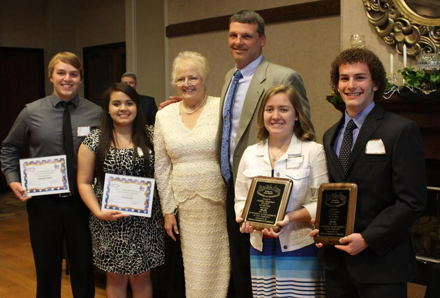 Chamber names two LHS seniors Student of the Year, two receive scholarships