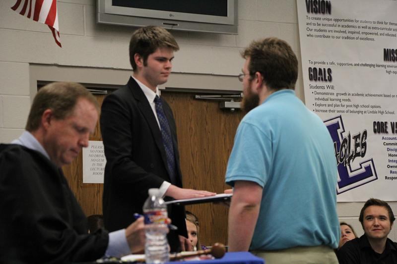 Debaters put on trial