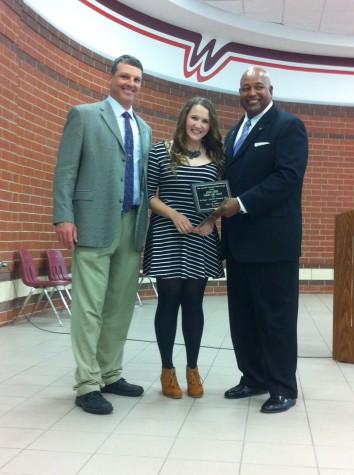 Elliott named TASSP Student of the Year for LHS