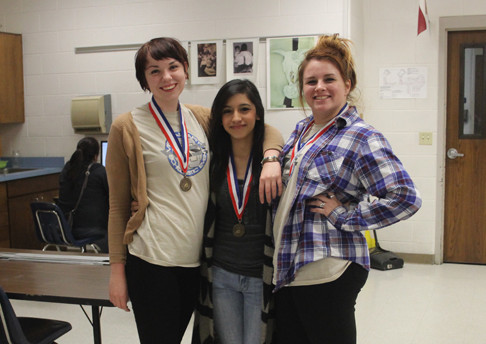 Students medal at state VASE competition