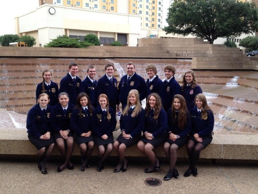FFA members attend the state convention