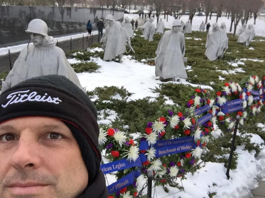 Principal+Casey+Neal++visits+the+Korean+War+Memorial+while+in+D.C.+this+week.