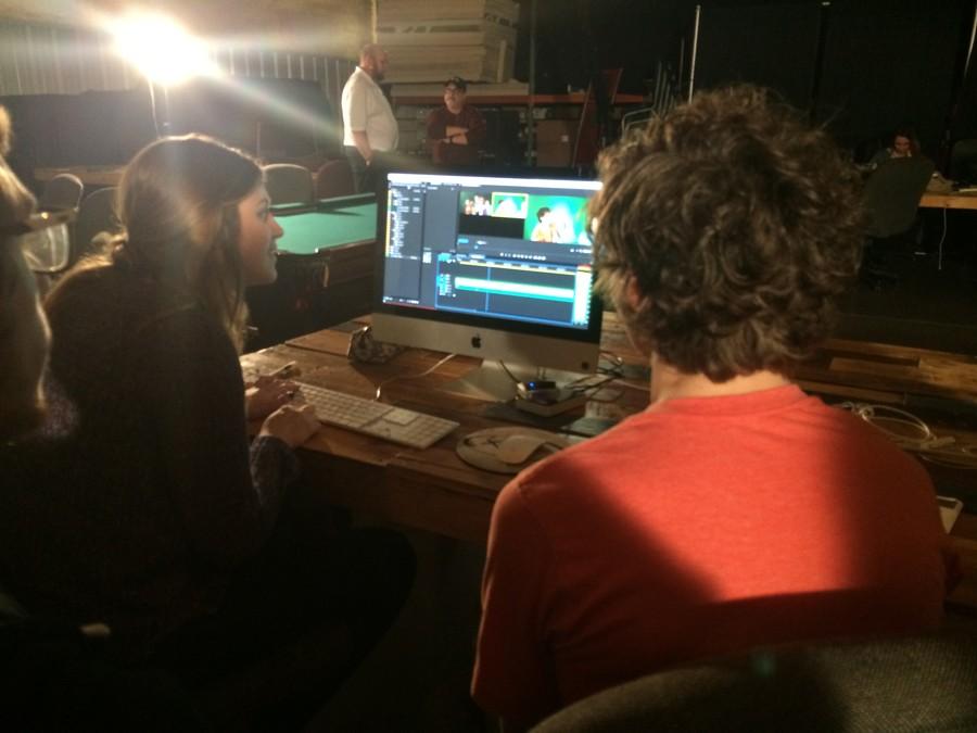 Eagle Eye staff visits local production studio