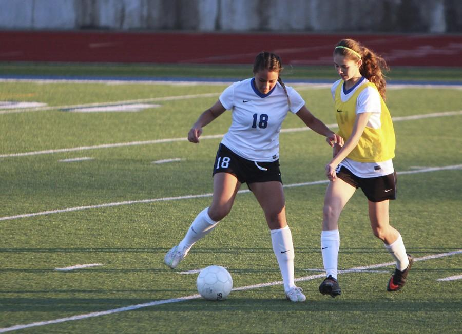 Lady+Eagle+soccer+makes+a+playoff+run