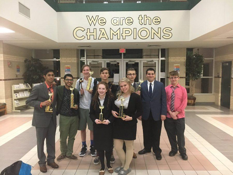 Debate students compete at the first swing tourney of the year
