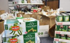 Students give to community through canned food drive