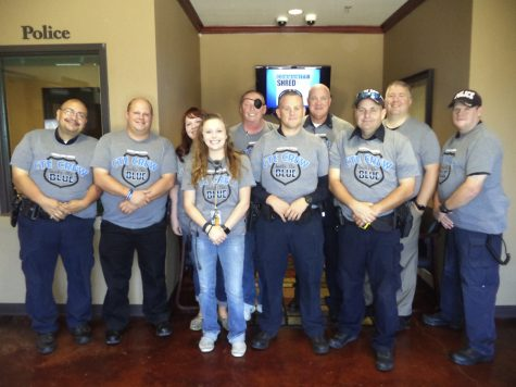 CTE department honors local police officers