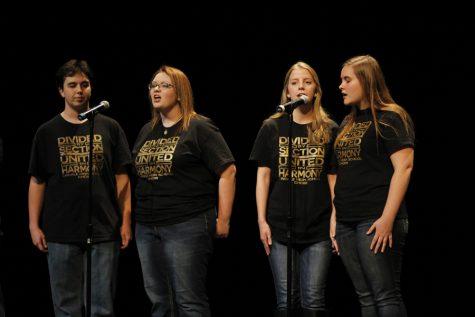Choir students perform at ACT VI