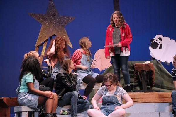 The Best Christmas Pageant Ever performance Sunday at 2:00.