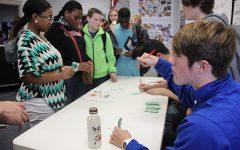 Students practice real life marketing skills