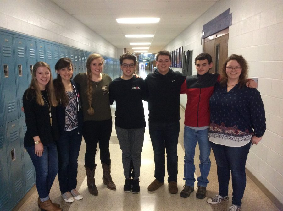 Choir students advance to State Solo and Ensemble contest after receiving