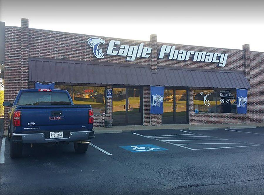 Employees begin to close up shop after another day of managing prescriptions and more.