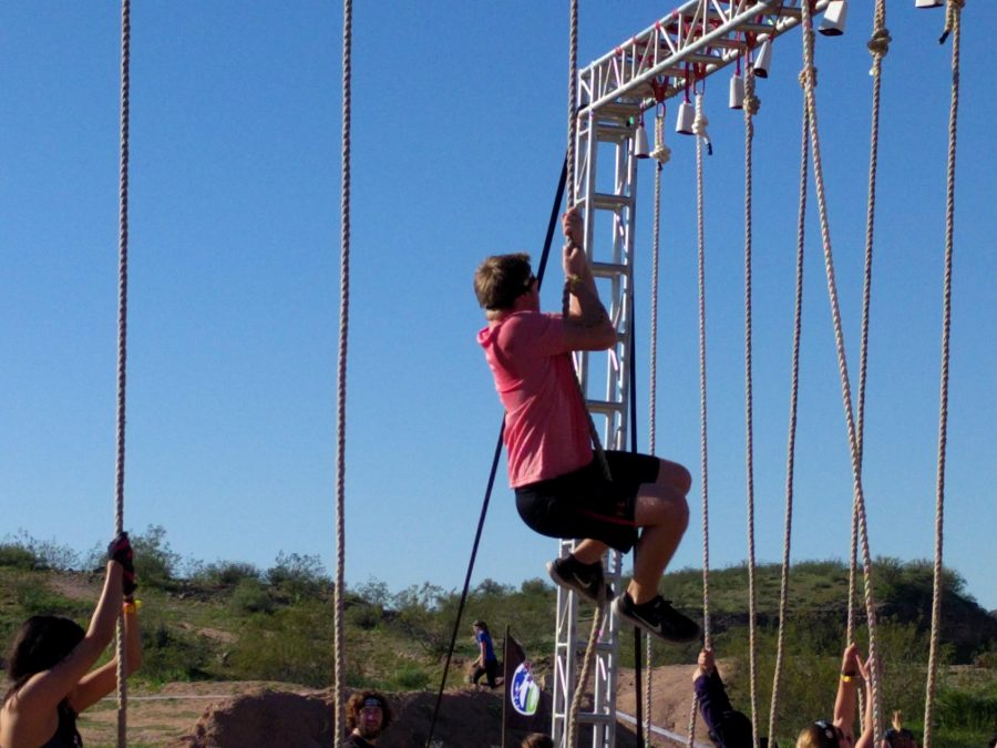 Thomas Olsen competes in the Spartan Race.
