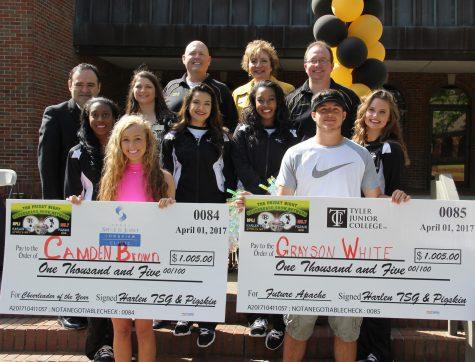 LHS senior receives scholarship to TJC
