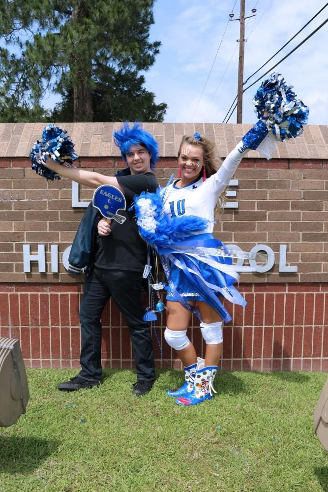 """Seniors Nate Steele and Bailey Thurman received the """"Most School Spirit"""" superlatives.  """"I always look forward to homecoming week, I spend time buying new things to look over the top, Senior Nate Steele said. """"Every year I've won an award in the pep rally for one of the homecoming days. Winning one of those has made me feel so good about myself and about my school.""""  Steele and Thurman have both received school spirit awards for their all out costumes. They both expect their children to have just as much school spirit as they have now.  """"I will be spirited throughout the rest of my life especially in my college years at football & baseball games,"""" Bailey Thurman said. """"And when I'm older and have kids and grandkids I will be that one crazy spirited mom / grandma."""""""