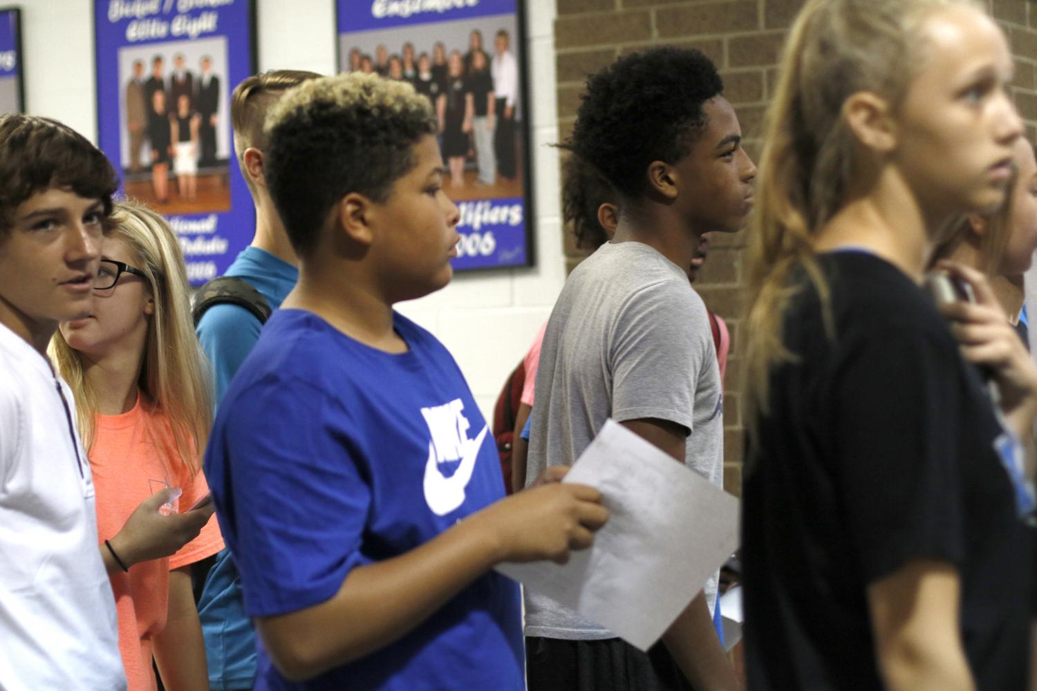 Fish Camp Speakers Inform New Freshmen About Upcoming School Year