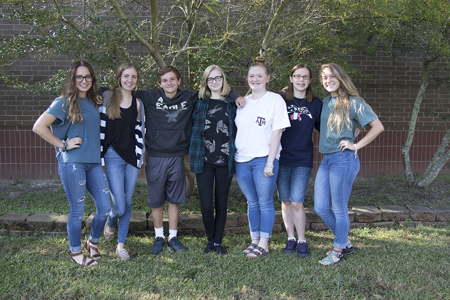 7  members of the UIL journalism team were named to the All-State Journalism Staff for 2017.