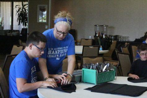 Life Skill Students Experience Jobs