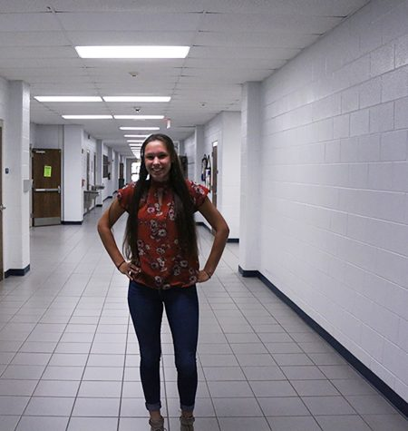 Madison Ortiz is a sophomore. She plays tennis and hangs out with friends in her free time.
