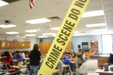 Students Investigate New Forensics Science Class