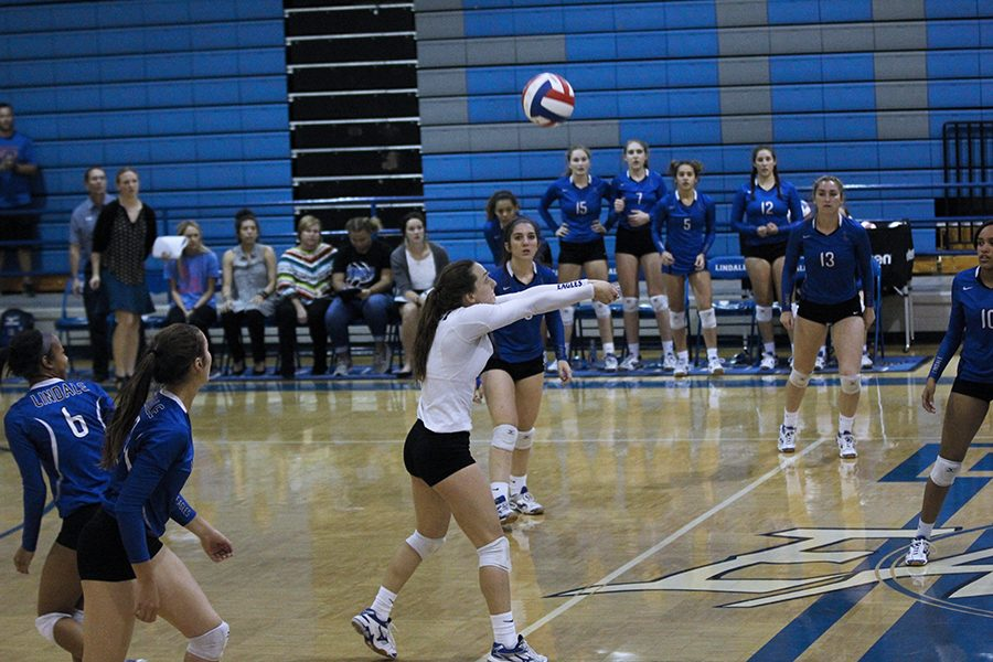 Volleyball Begins Round Two of District