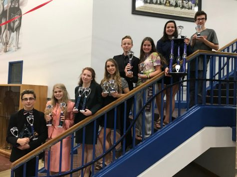 Speech and Debate Competes at Plano West