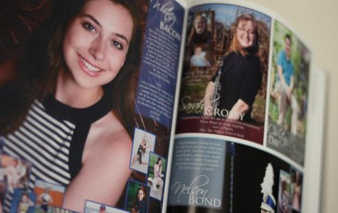Yearbooks on sale, senior ad forms due in October