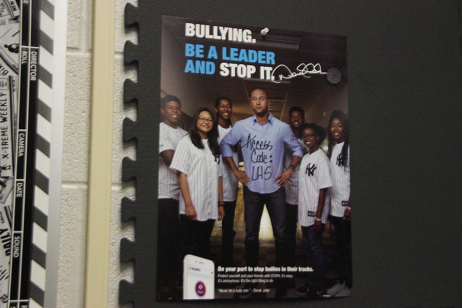 Poster advertises Stop It Campaign.