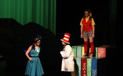 Kayleigh Melvin performs in Seussical the Musical.