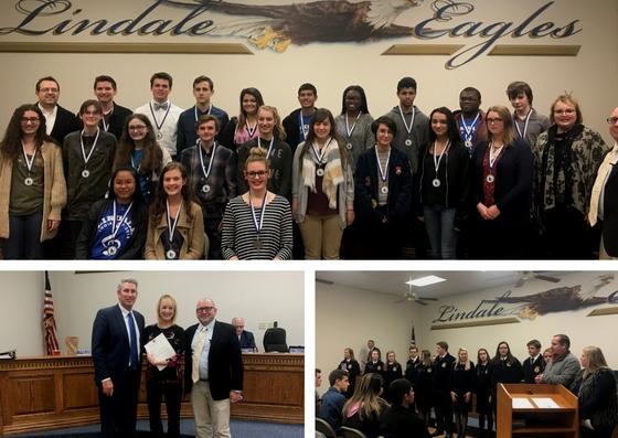 Choir, FFA, McClenny Recognized At Board Meeting