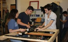 Technical Theater Class Completes End of the Year Project