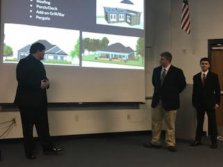 Students present their
