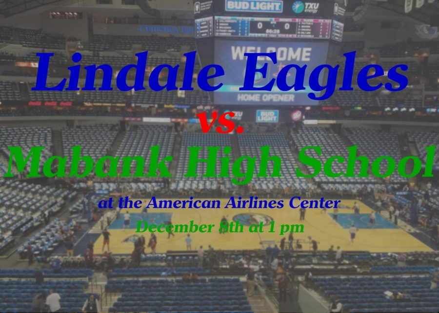 The+Boys+varsity+basketball+team+will+play+Mabank+High+School+on+December+8th+at+1+pm.+The+game+will+take+place+at+the+American+Airlines+Center+in+Dallas.
