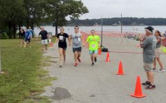 Senior Life Skills Student Competes In Tyler Triathlon