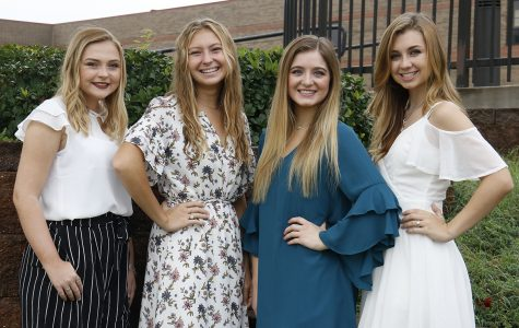 Homecoming Queen Nominees Prepare to be Crowned