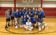 Volleyball Wins Bi-District Game to Advance to Area