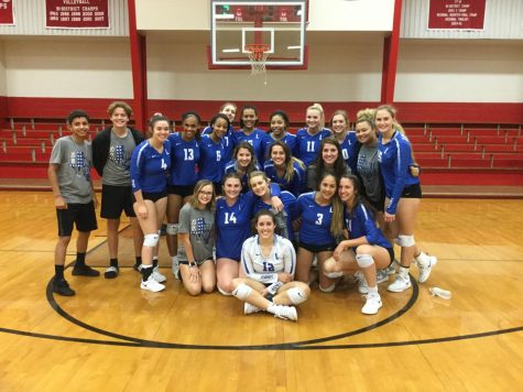 Volleyball Loses to Texas High, Wins Against Greenville