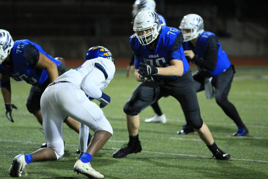 Athlete Spotlight: Senior Football Lineman James Sandifer